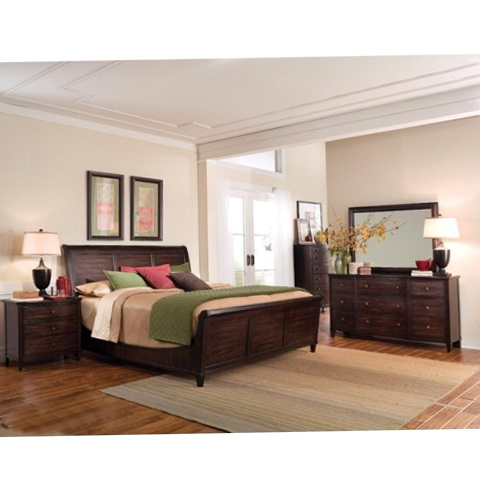 King Sleigh Bedroom Sets