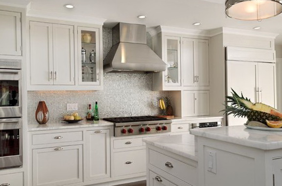 Kitchen Backsplash Designs With White Cabinets