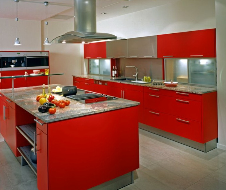 Kitchen Cabinet Colors Two Tone