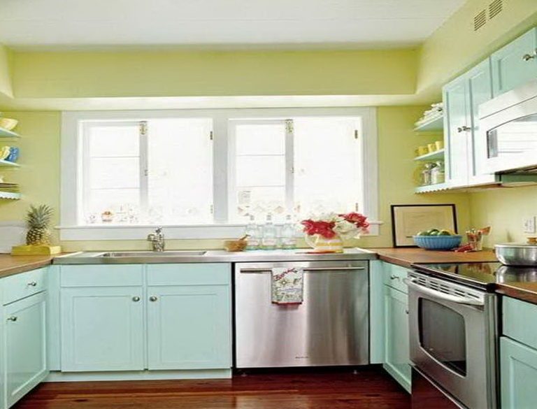 Kitchen Cabinet Paint Colors 2014