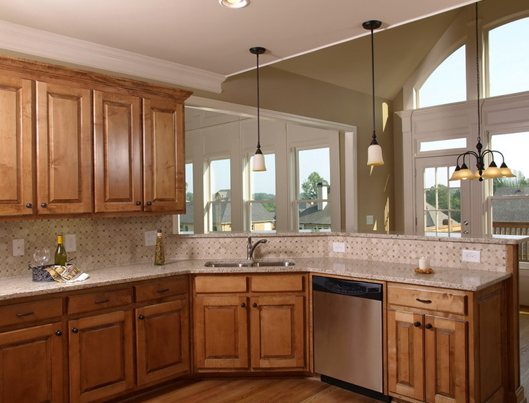 Kitchen Decor Ideas With Oak Cabinets