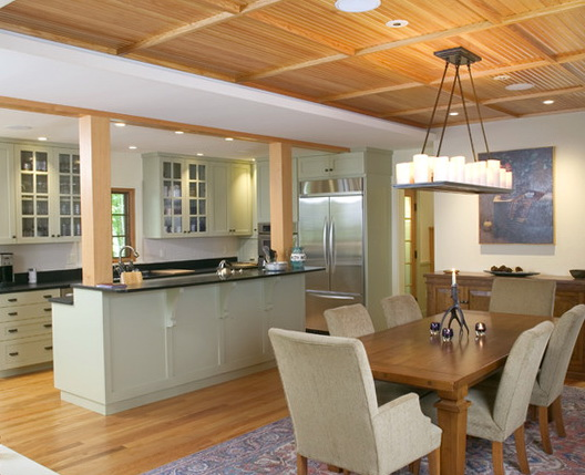 Kitchen Island Designs With Pillars