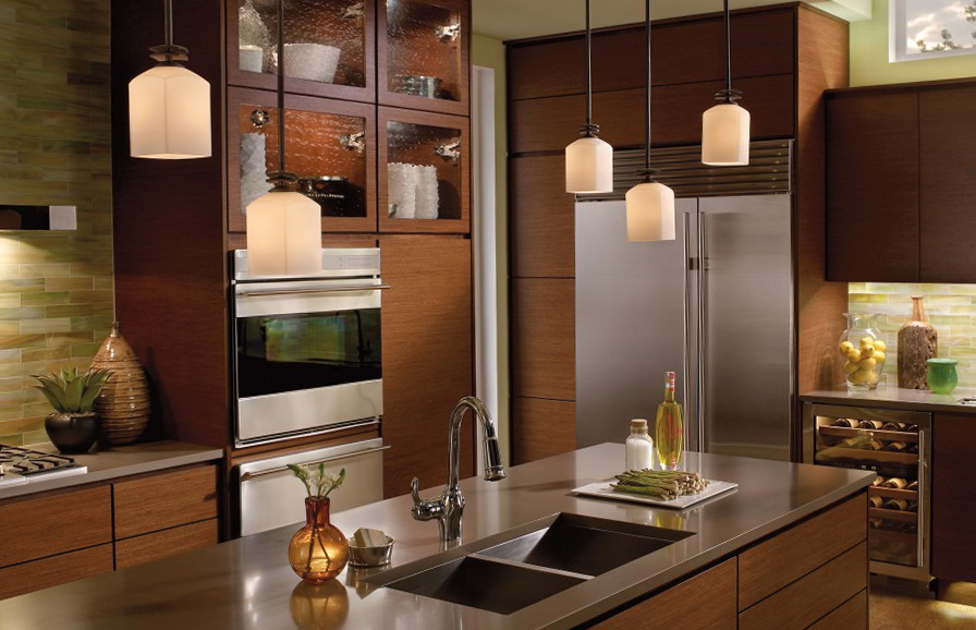 Kitchen Island Lighting Bronze