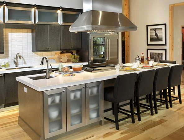 Kitchen Islands With Seating For 4
