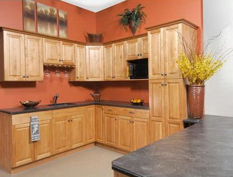 Kitchen Paint Ideas For Oak Cabinets