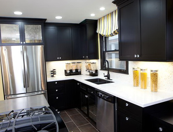 Kitchen Renovation Ideas Dark Cabinets