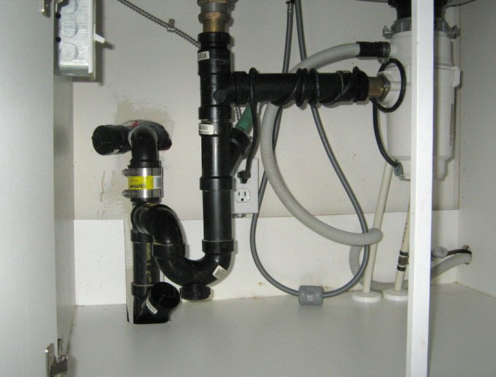 Kitchen Sink Plumbing With Disposal