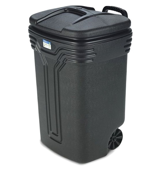 Kitchen Trash Can On Wheels