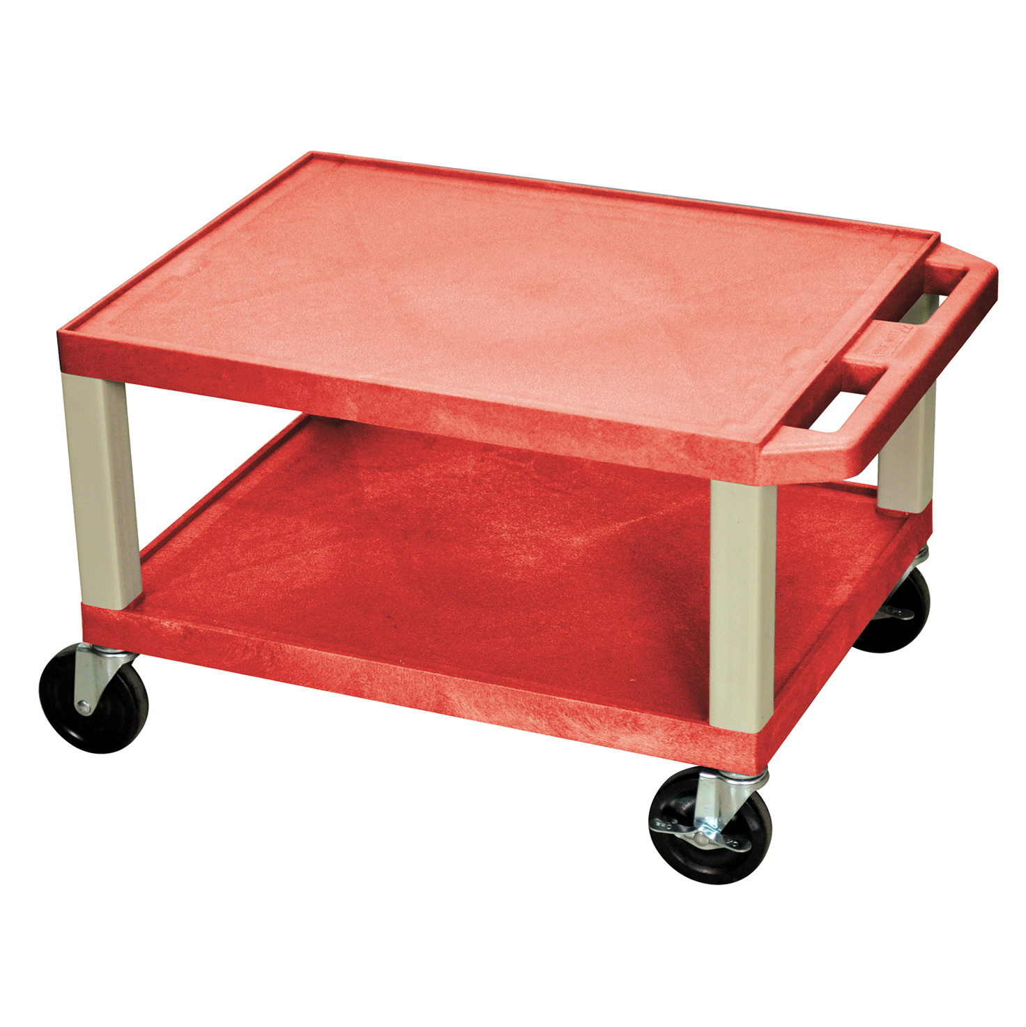 Kitchen Utility Cart With Electrical Outlet