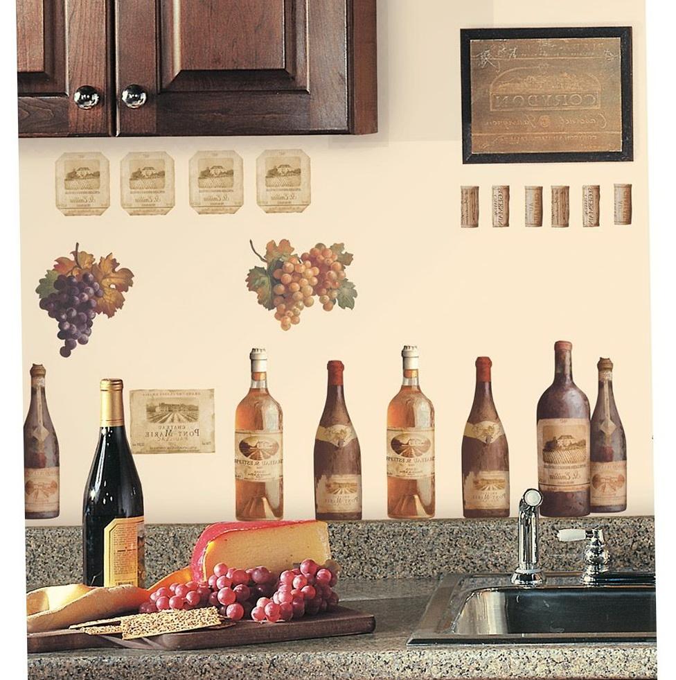 Kitchen Wall Decor Wine