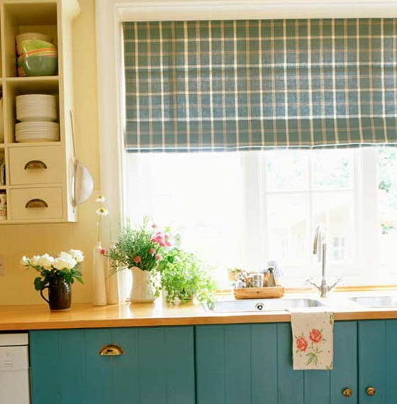 Kitchen Window Treatments 2015