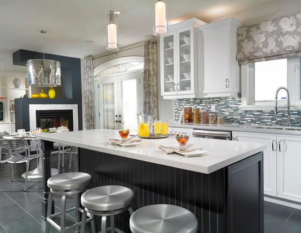 Kitchen Window Treatments Modern
