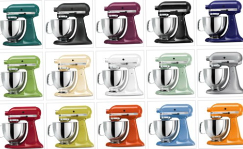 Kitchenaid Mixers Colors