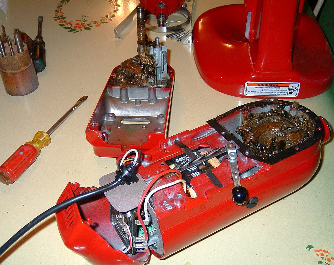 Kitchenaid Stand Mixer Repair