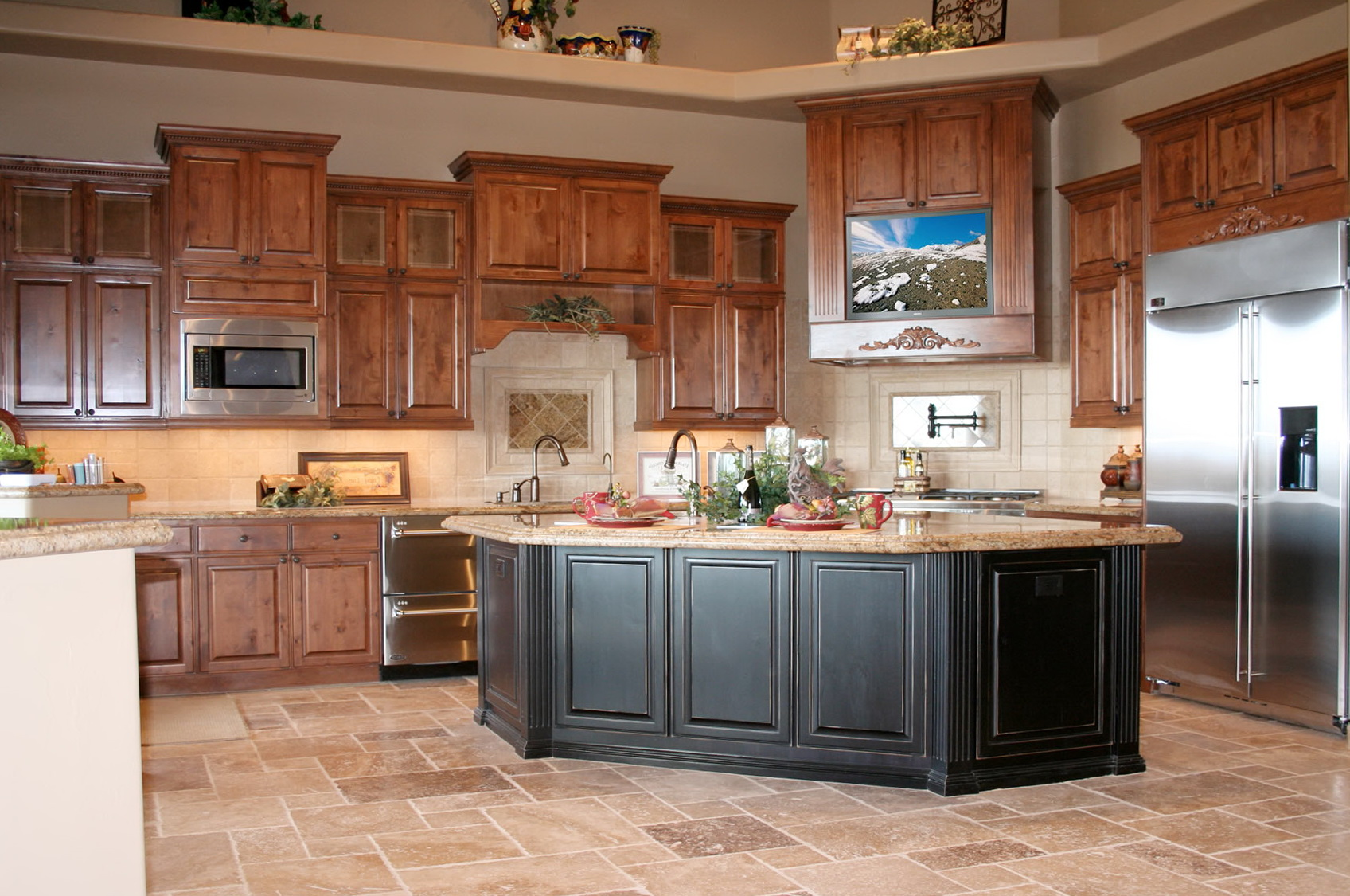 L Shaped Kitchen Cabinet Designs
