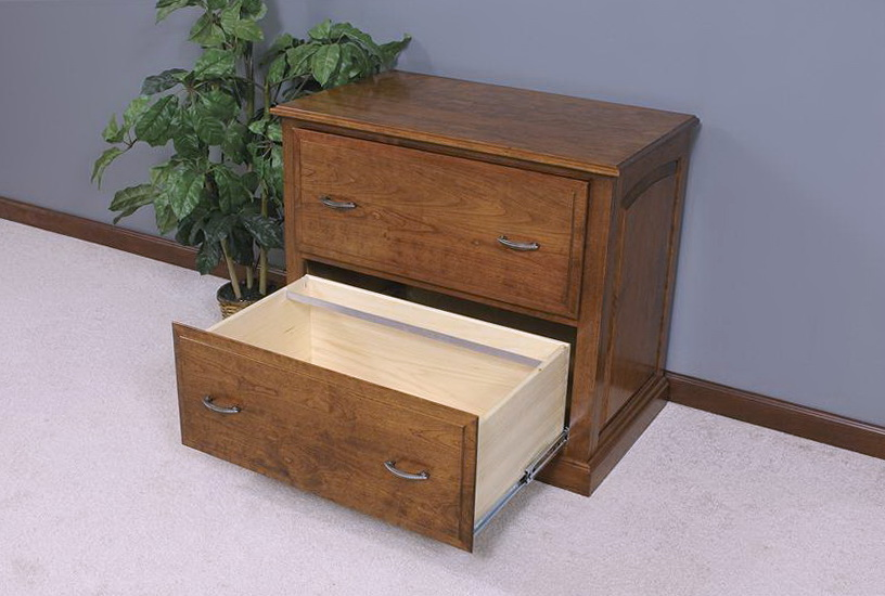 Lateral File Cabinet Plans
