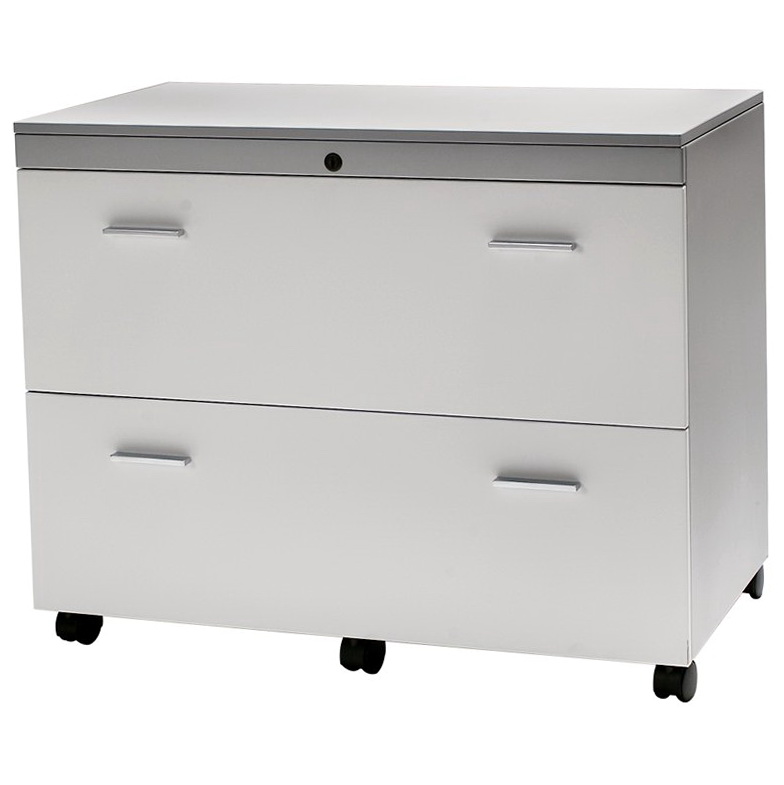 Lateral File Cabinet White