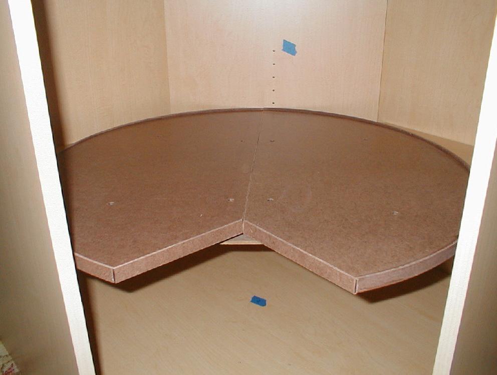 Lazy Susan Cabinet Measurements