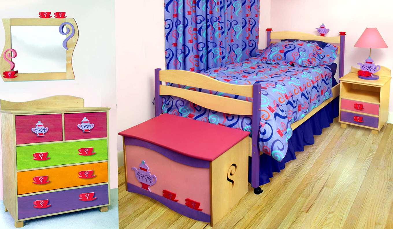 Little Girls Bedroom Set