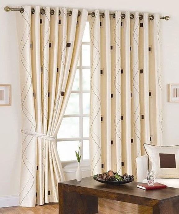 Living Room Curtains Modern
