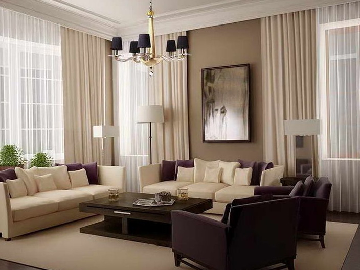 Living Room Curtains Pinterest