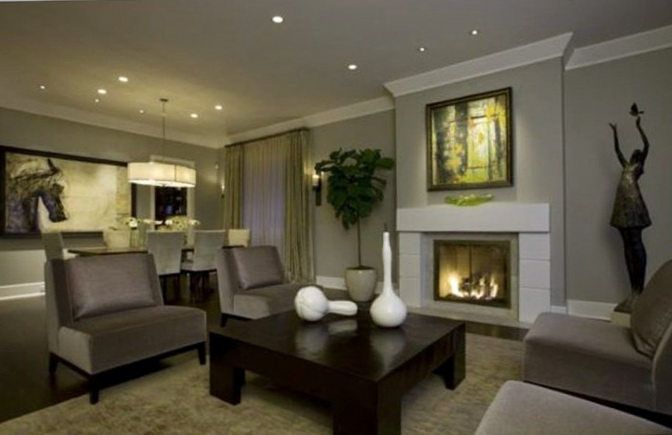 Living Room Paint Ideas Gray