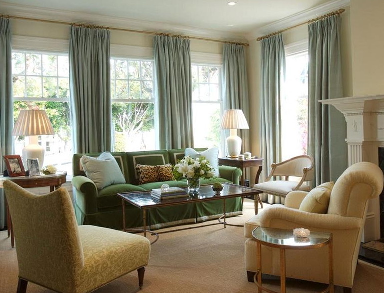 Living Room Window Treatments Ideas