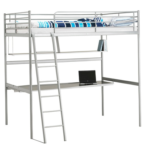 Loft Bed With Desk Underneath Ikea