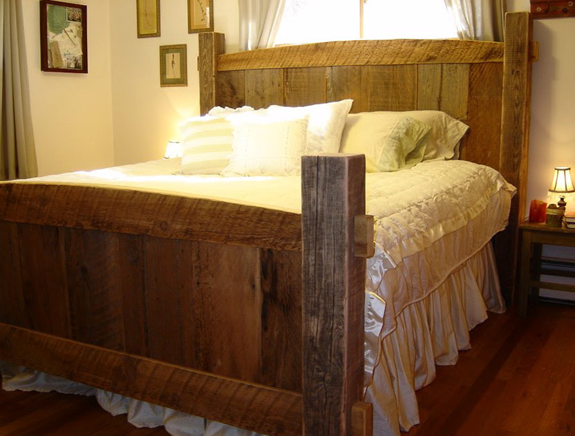Log Bed Frames Bend Oregon