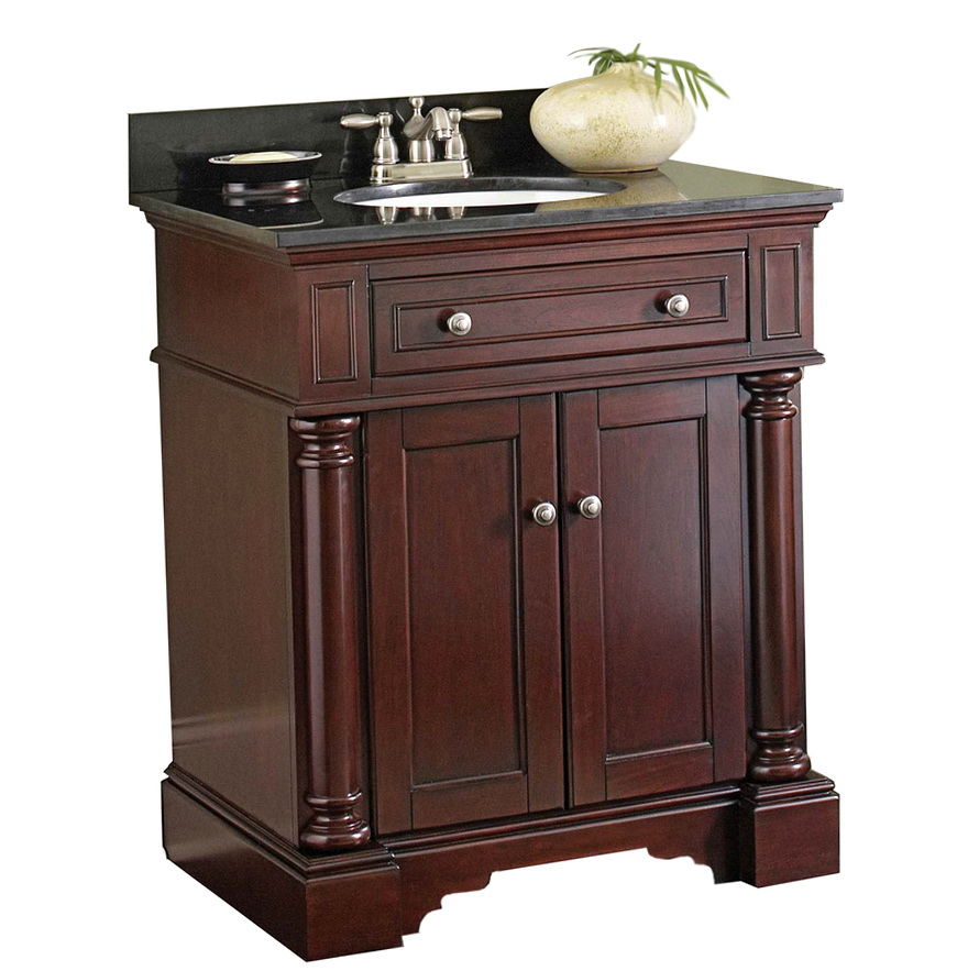 Lowes Bathroom Vanities Allen Roth