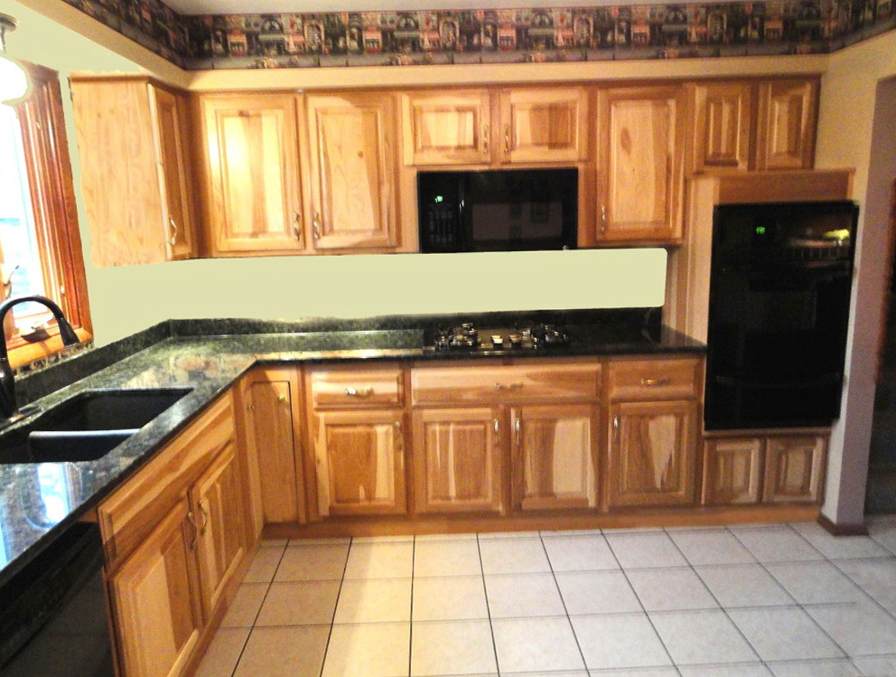 Lowes Hickory Kitchen Cabinets