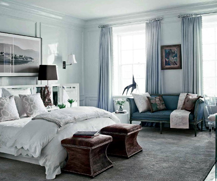 Master Bedroom Decorating Ideas Blue And Brown