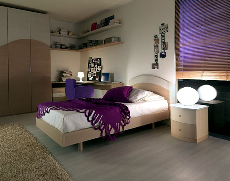 Master Bedroom Decorating Ideas Purple