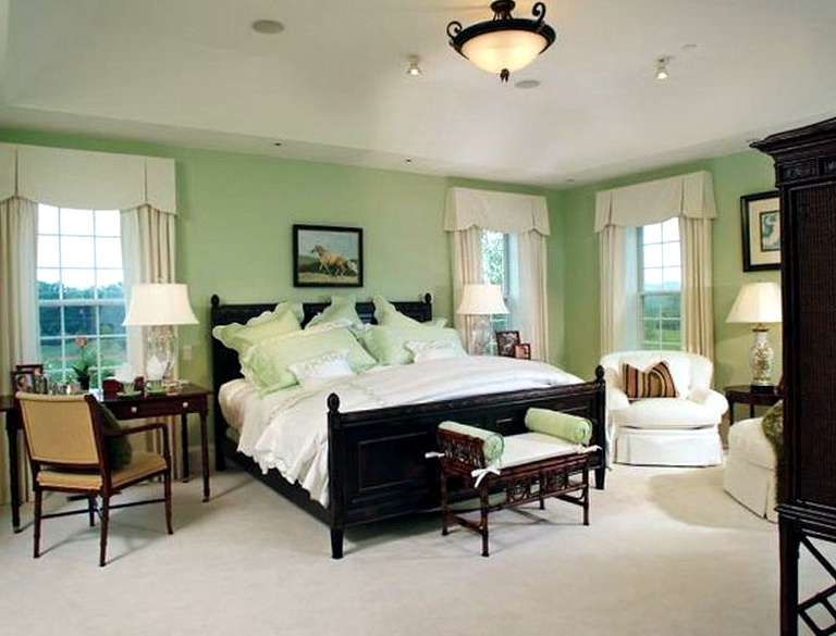 Master Bedroom Designs Green