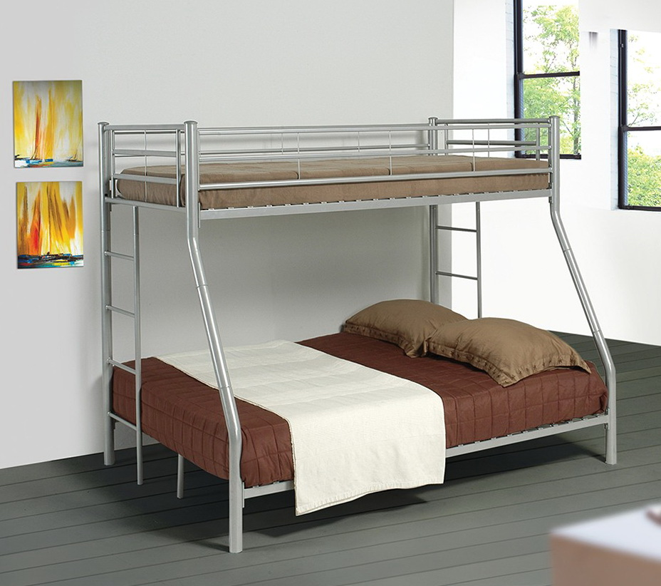 Metal Bunk Beds Twin Over Full 2