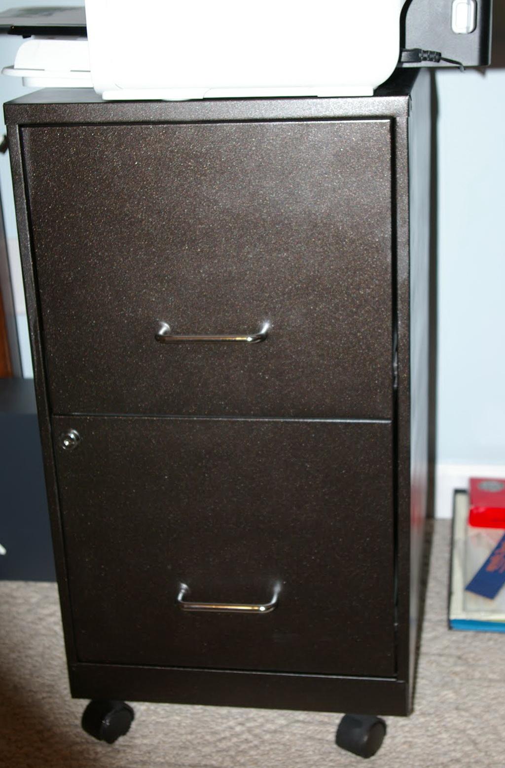 Metal File Cabinet Redo