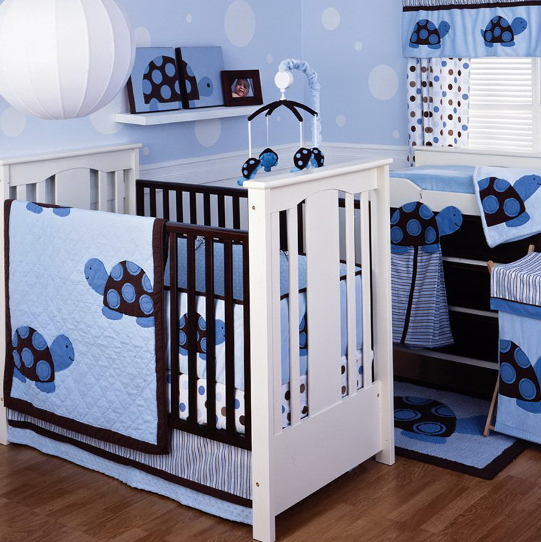 Mini Crib Bedding For Boys1