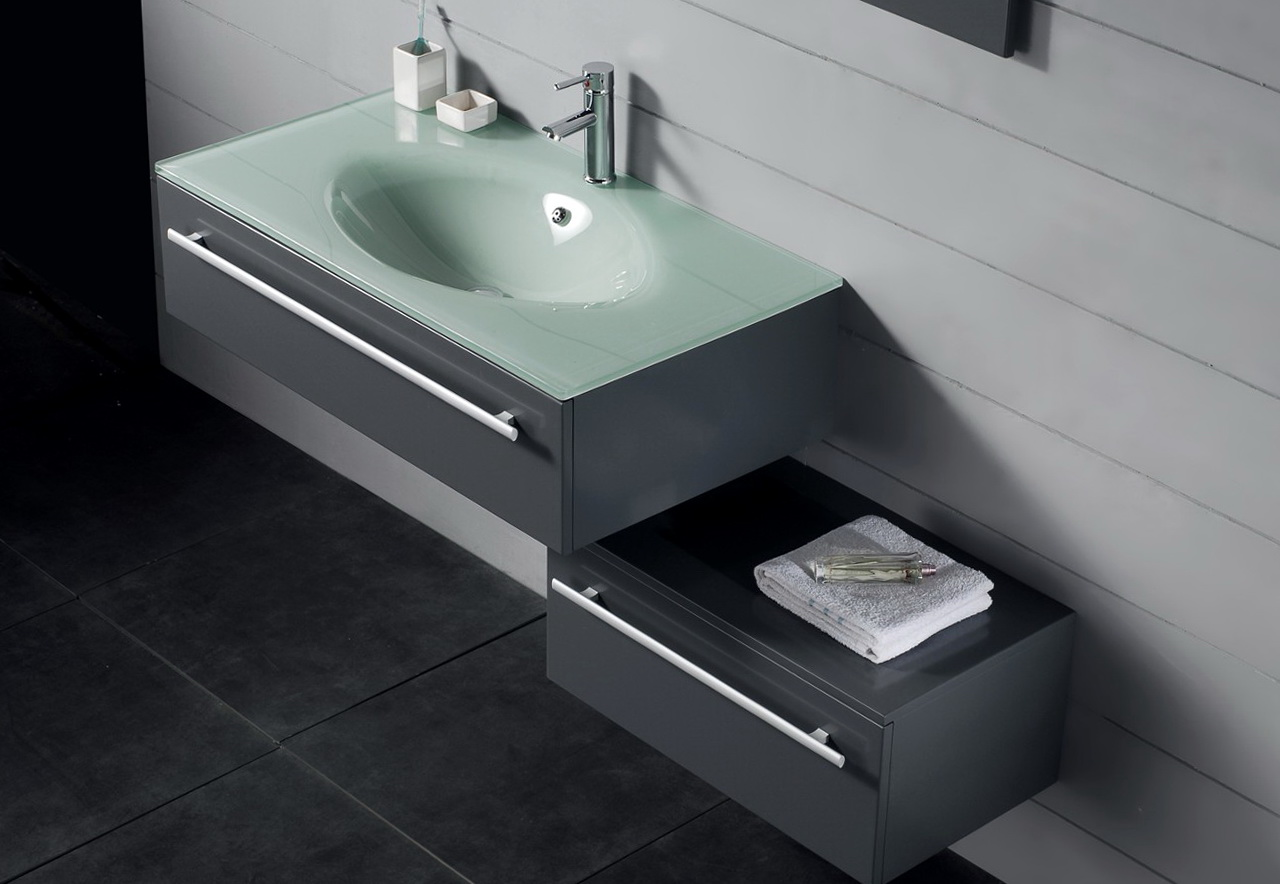 Modern Bathroom Vanities Single Sink