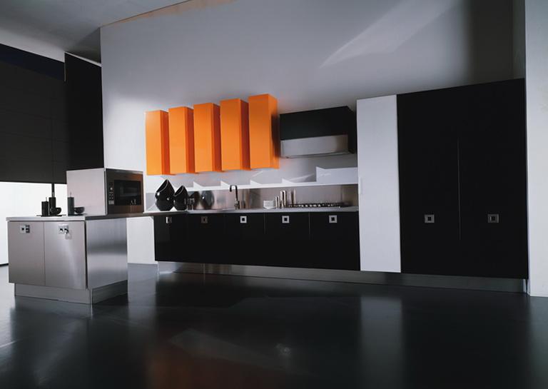 Modern Kitchen Cabinets Black