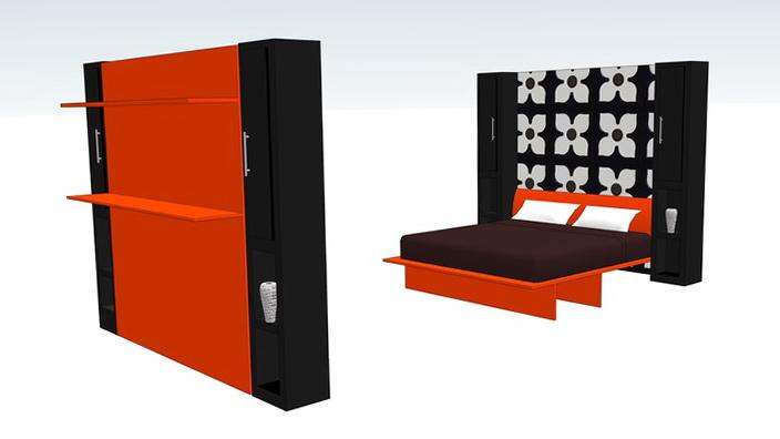 Modern Murphy Bed Designs