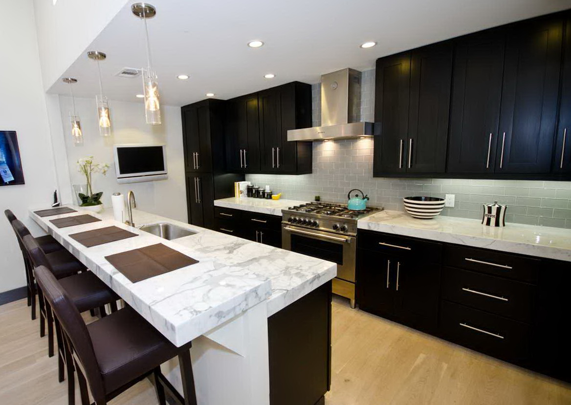 Modern Refacing Kitchen Cabinets
