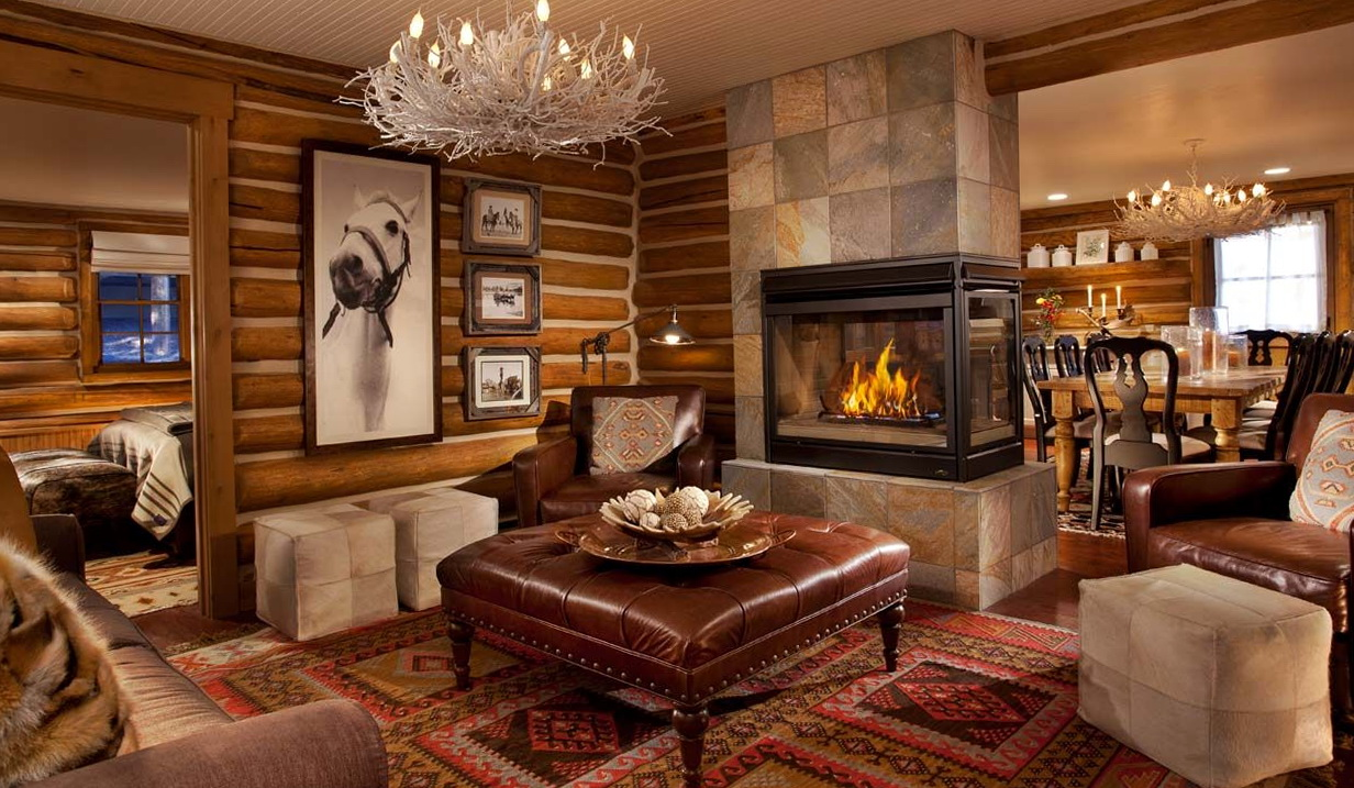 Modern Rustic Living Room Furniture