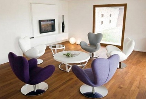 Modern Swivel Chairs For Living Room