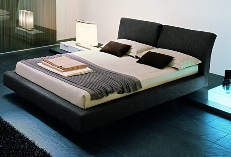 Modern Upholstered Bed Frame
