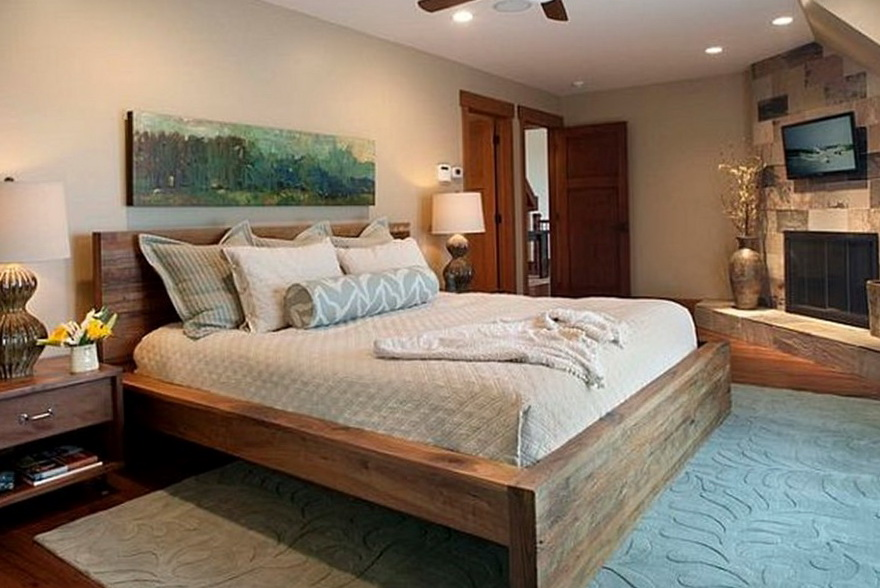 Modern Wood Bed Frames