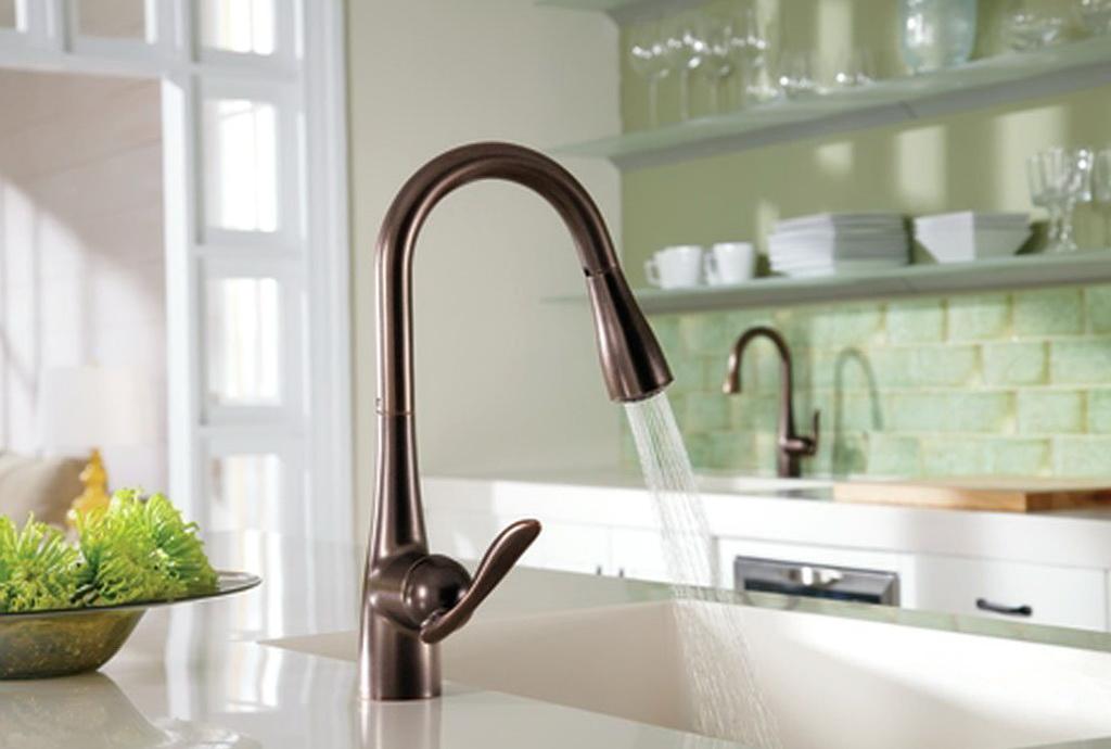 Moen Oil Rubbed Bronze Kitchen Faucet