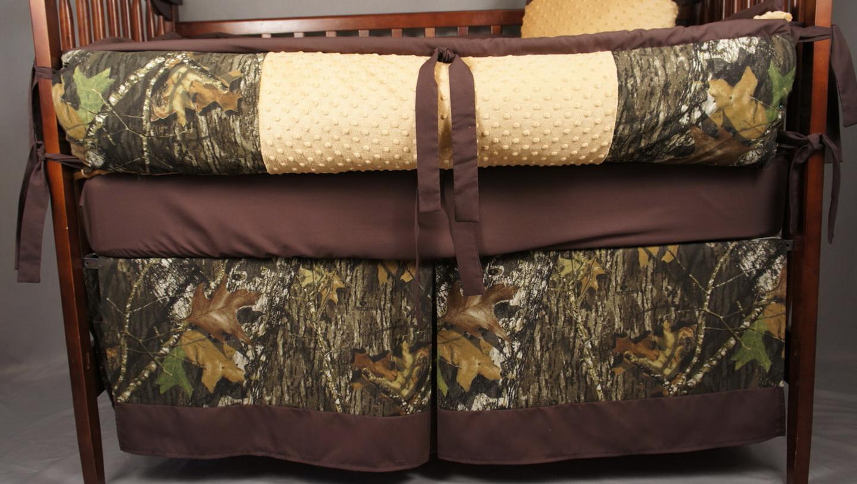 Mossy Oak Camo Crib Bedding
