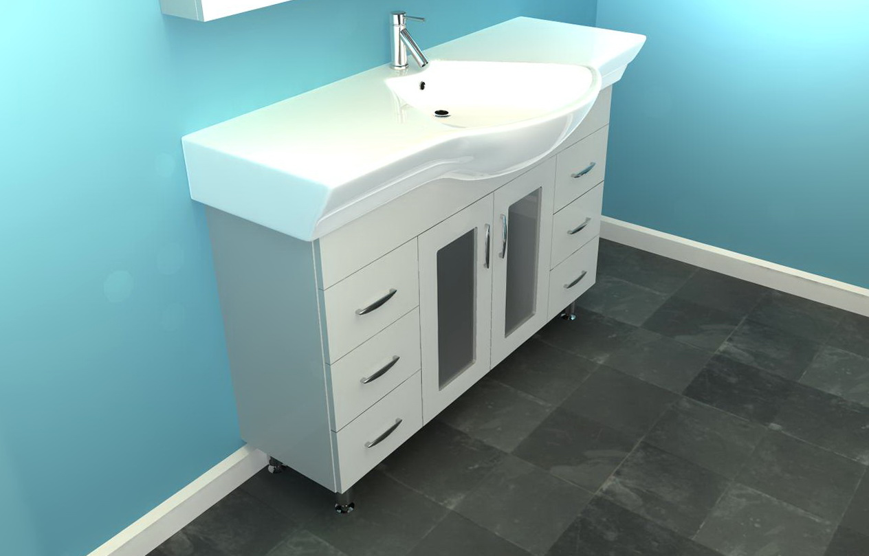 Narrow Bathroom Floor Cabinet