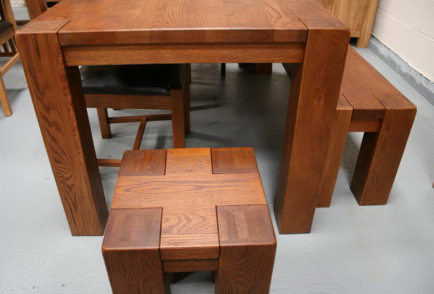 Narrow Kitchen Table With Bench