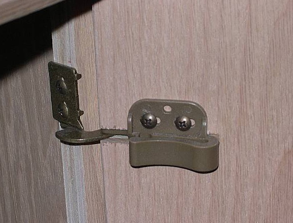 Old Kitchen Cabinet Hinges